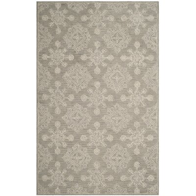 Skyla Hand-Tufted Light Beige Area Rug Rug Size: 8 x 10