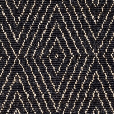 Pace Hand-Woven Black Area Rug Rug Size: Rectangle 4 x 6