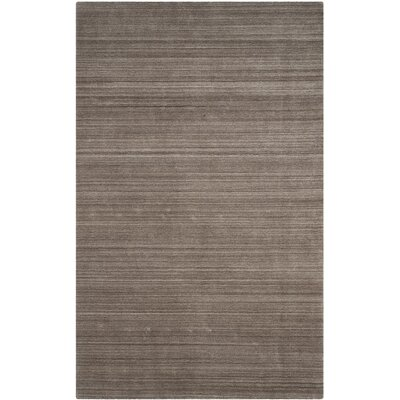 Leontine Hand-Loomed Beige Area Rug Rug Size: Rectangle 9 x 12