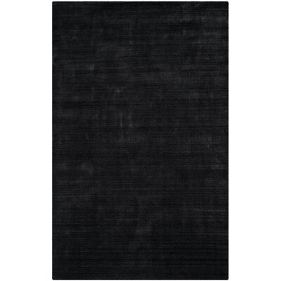 Leontine Hand-Loomed Gray Area Rug Rug Size: Rectangle 8 x 10