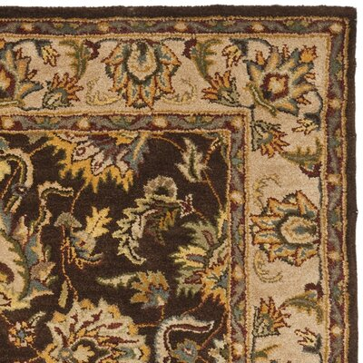 Cranmore Brown/Ivory Area Rug COLOR: Brown / Ivory, Rug Size: Rectangle 6 x 9