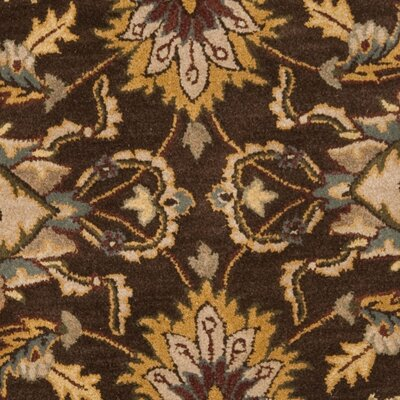 Cranmore Brown/Ivory Area Rug COLOR: Brown / Ivory, Rug Size: Round 6