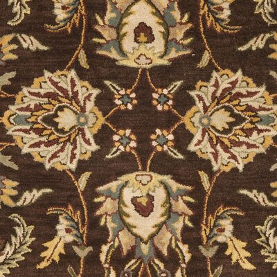 Cranmore Brown/Ivory Area Rug COLOR: Brown / Ivory, Rug Size: Square 6