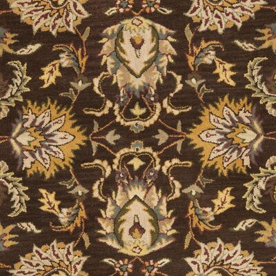 Cranmore Brown/Ivory Area Rug COLOR: Brown / Ivory, Rug Size: Rectangle 76 x 96