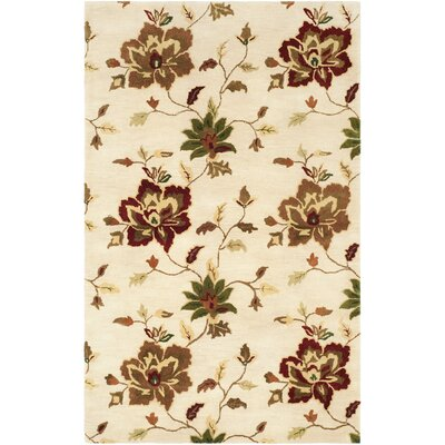 Jardin Ivory/Multi Area Rug Rug Size: Rectangle 8 x 10