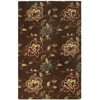 Jardin Brown/Multi Area Rug Rug Size: Rectangle 4 x 6