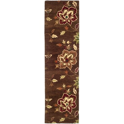 Jardin Brown/Multi Area Rug Rug Size: Runner 2'3