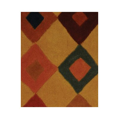 Rodeo Drive Light Brown Area Rug Rug Size: 26 x 46