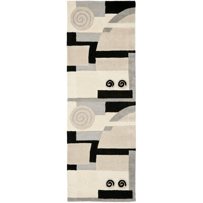 Rodeo Drive Tan Area Rug Rug Size: Runner 26 x 8