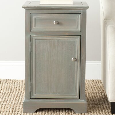 Jarome End Table Color: French Grey