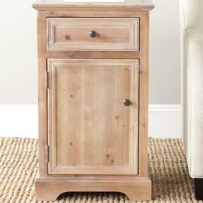 Jarome End Table Color: Red Maple