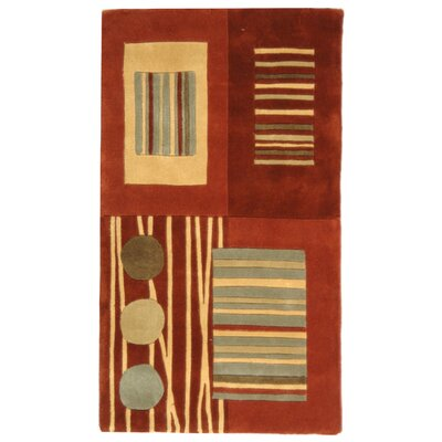 Rodeo Drive Rust Area Rug