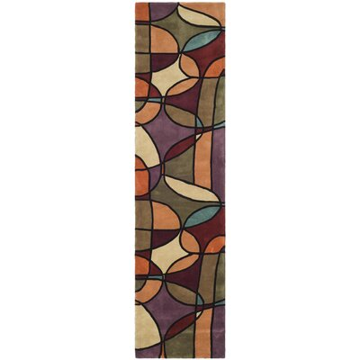 Rodeo Drive Assorted Contemporary Rug Rug Size: Runner 26 x 8