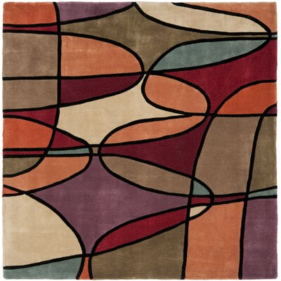 Rodeo Drive Assorted Contemporary Rug Rug Size: Square 6'