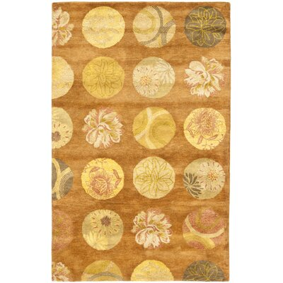 Rodeo Drive Light Brown Area Rug Rug Size: 2 x 3