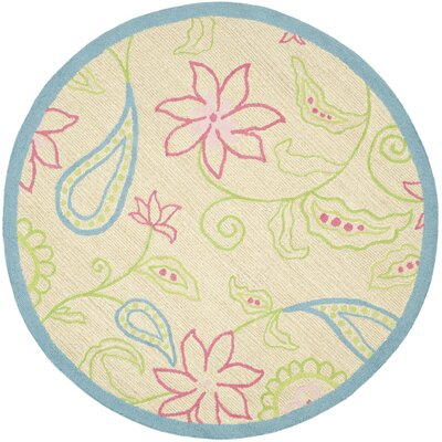 Claro Damask Kids Area Rug Rug Size: Rectangle 8 x 10