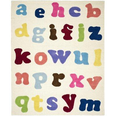 Claro Alphabet Area Rug Rug Size: 4 x 6