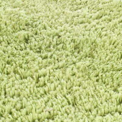 Shag Lime Area Rug Rug Size: 5' x 8'