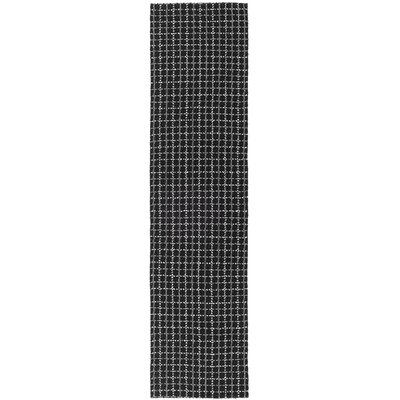 South Hampton Dark Grey Area Rug Rug Size: Runner 2 x 8