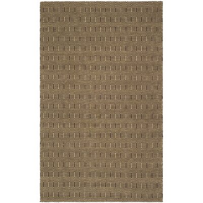 South Hampton Brown Area Rug Rug Size: 76 x 96