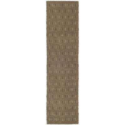 South Hampton Brown Area Rug Rug Size: Runner 2 x 8