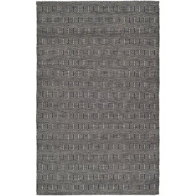 South Hampton Grey Area Rug Rug Size: 5 x 8
