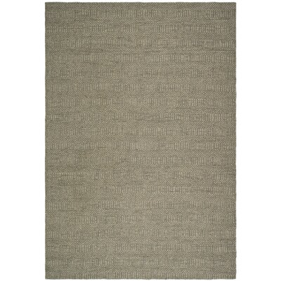 South Hampton Grey Area Rug Rug Size: 76 x 96