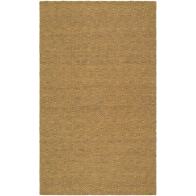 South Hampton Gold Area Rug Rug Size: 5 x 8