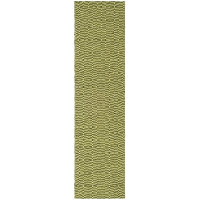 South Hampton Green Area Rug Rug Size: Runner 2 x 8