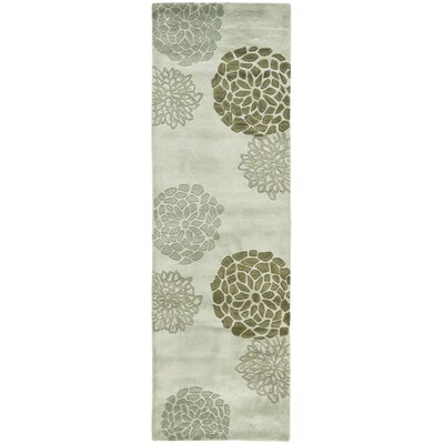 Soho Light Gray Area Rug Rug Size: Runner 26 x 8