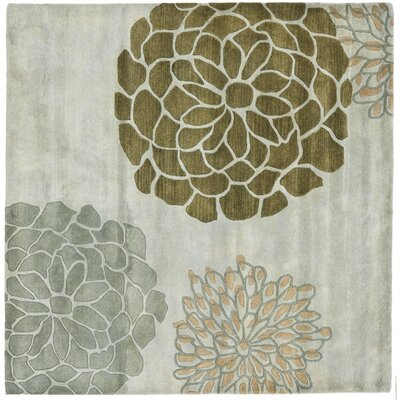 Soho Light Gray Area Rug Rug Size: Square 8