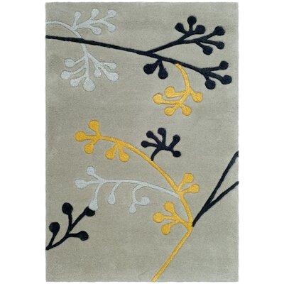 Soho Grey Area Rug Rug Size: 2 x 3