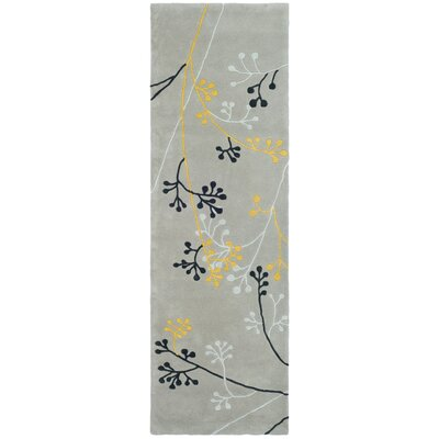 Soho Grey Area Rug Rug Size: Runner 25 x 8