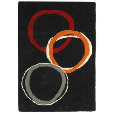Soho Charcoal Rug Rug Size: 96 x 136