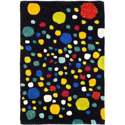 Soho Black Area Rug Rug Size: Rectangle 2 x 3