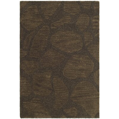 Soho Dark Brown Area Rug Rug Size: 5 x 8