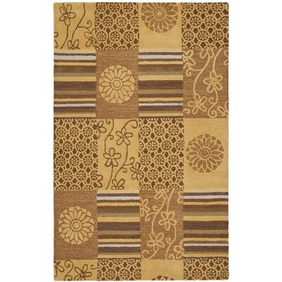Soho Tan Area Rug Rug Size: Rectangle 76 x 96