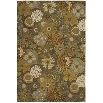 Soho Light Brown Area Rug Rug Size: 6 x 9