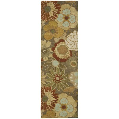 Soho Light Brown Area Rug Rug Size: Runner 26 x 12