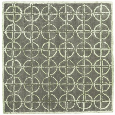 Soho Brown/Gold Rug Rug Size: Square 6