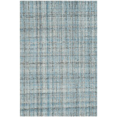 Drumnasole Hand-Tufted Blue/Gray Area Rug Rug Size: Rectangle 3 x 5