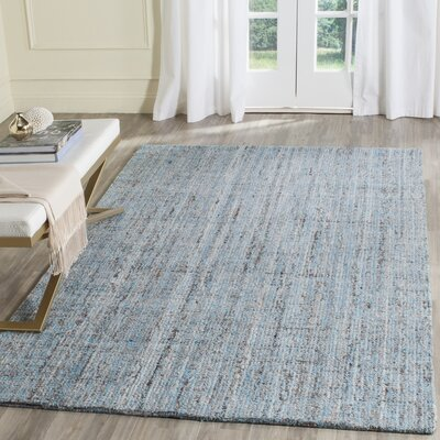 Brendan Hand-Tufted Blue Area Rug Rug Size: Rectangle 5 x 8