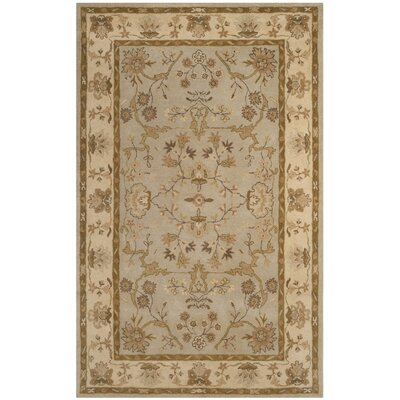 Dunbar Hand-Tufted Wool Light Gray Area Rug