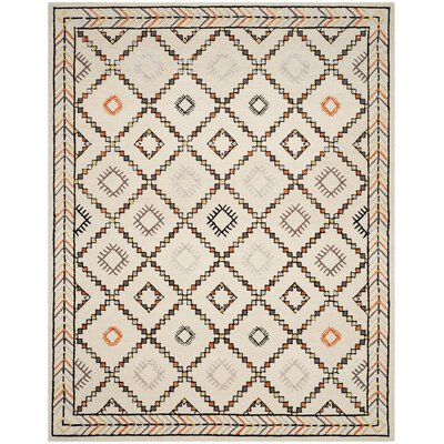 Blokzijl Hand-Tufted Wool Ivory Area Rug