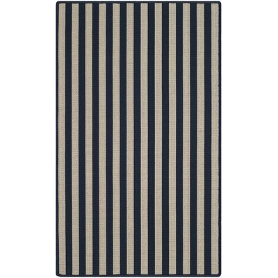 Verde Ivory/Navy Indoor/Outdoor Area Rug Rug Size: Rectangle 3 x 5
