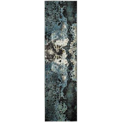 Glacier Blue Area Rug Rug Size: Runner 22 x 8