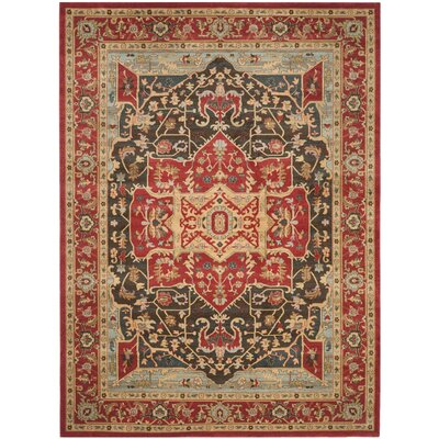 Pacheco Red Area Rug