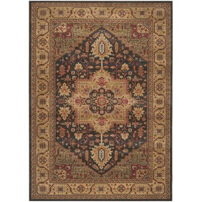 Alto Navy/Natural Area Rug Rug Size: Rectangle 10 x 14