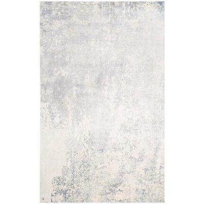 Ely Gray Area Rug Rug Size: Rectangle 10 x 14