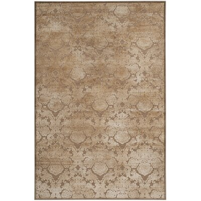 Martha Stewart Camel Area Rug Rug Size: Rectangle 51 x 76